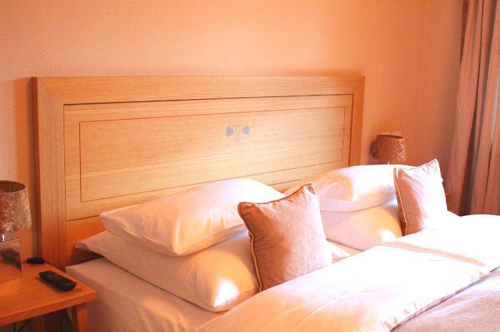 Hotel Bachmair Schlafzimmer Bett