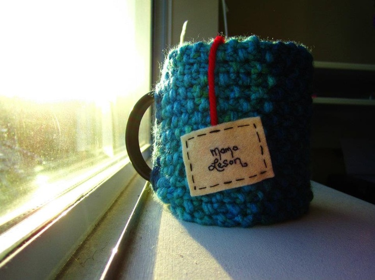 "Onana Snug Mug Cozy || ""Mama Leson"""