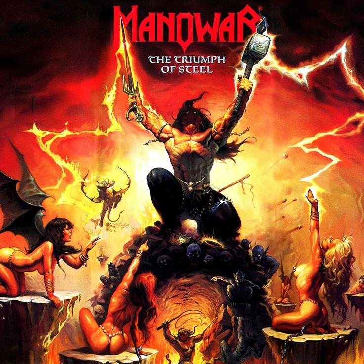 Manowar the triumph of steel poster z pinterest
