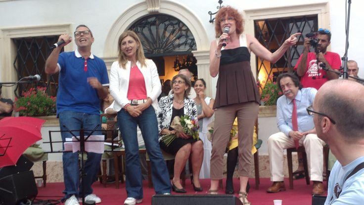 #FiorellaMannoia, #FrankieHiNrg  #GiusiNicolini