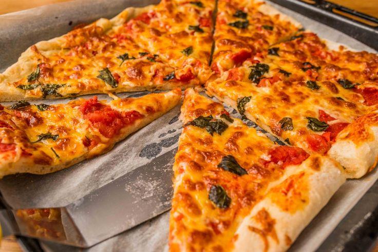 Házi margherita pizza recept