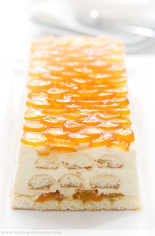 Candied Kumquat Tiramisu