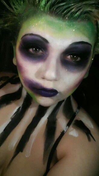 Beetlejuice makeup                                                                                                                                                                                 More
