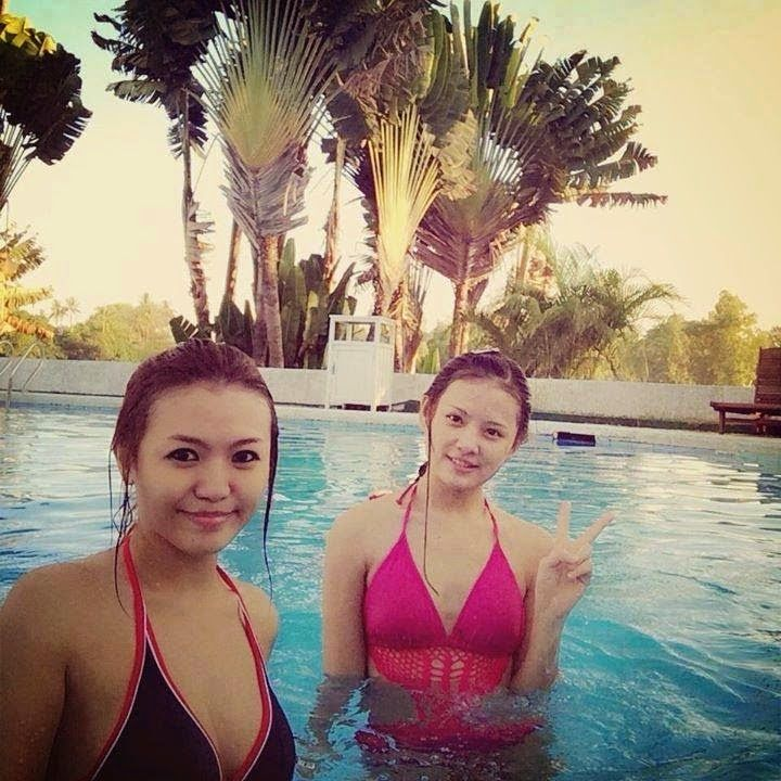 8 Best Images About Cute Myanmar Girl Photos In Swimming Pool That Can Make You Fall In Love