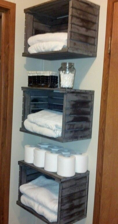 25 best ideas about towel storage on pinterest bathroom towel storage bathroom towels and. Black Bedroom Furniture Sets. Home Design Ideas