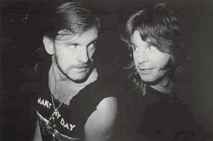 Lemmy and Ozzy