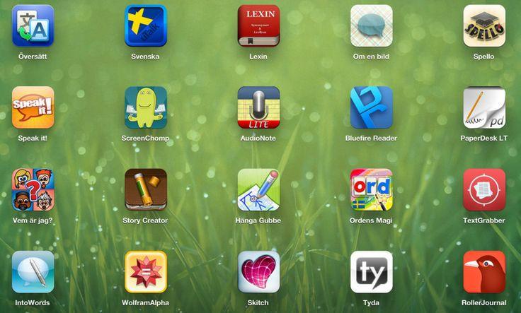 SFI-appar för yngre och äldre elever
