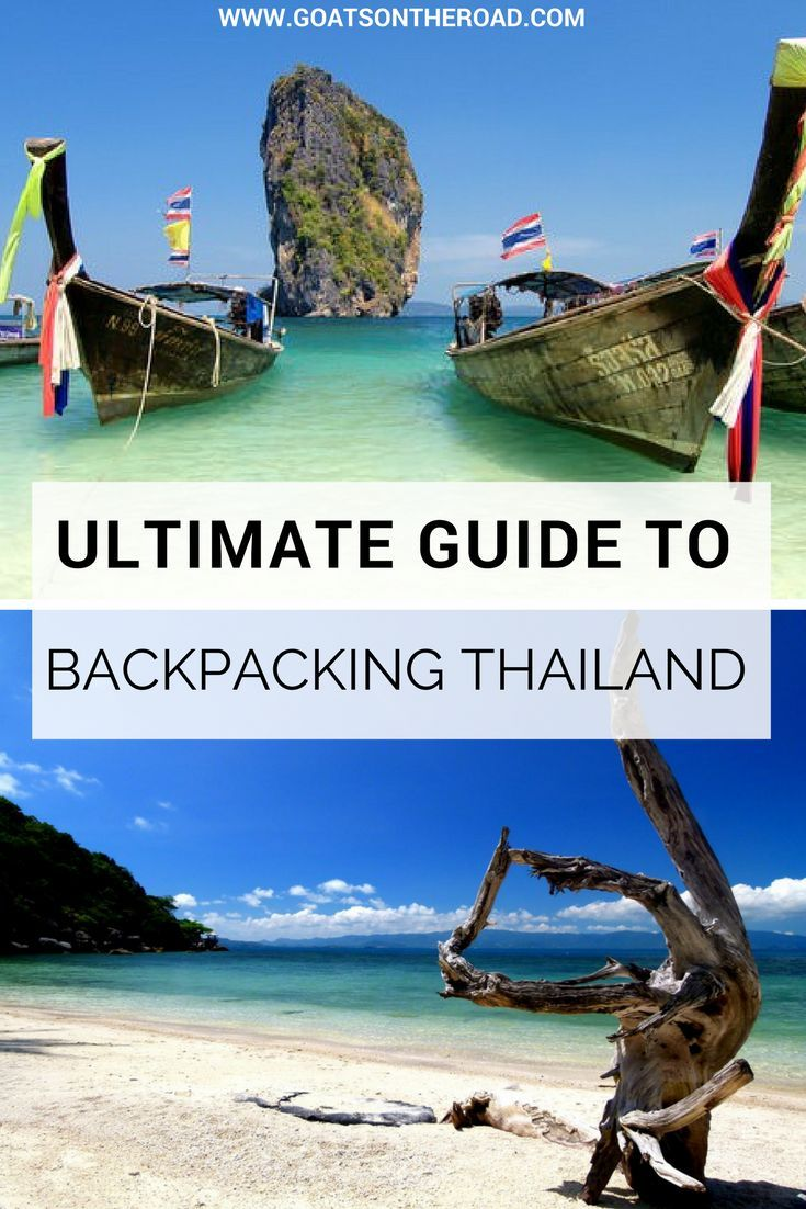 Guide To Backpacking Thailand | Guide To Backpacking Thailand | Best Backpacking Tips For Thailand | Everything You Need To Know About Thailand Travel | How Much Does It Cost To Travel In Thailand | What To Do In Thailand | Where To Stay In Thailand | Wha