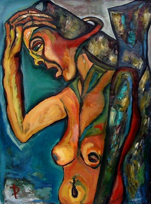 Expressionist Pain by Daniela Isache