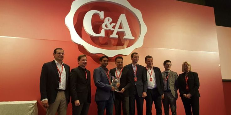 India's Pratibha Syntex wins C&A's 'Best Global Supplier Award' for 2016.