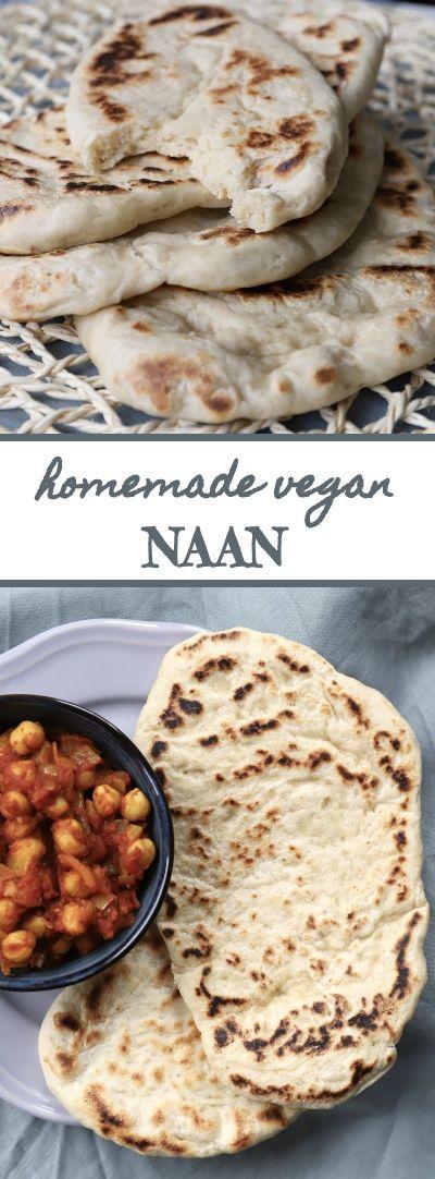 Homemade Vegan Naan