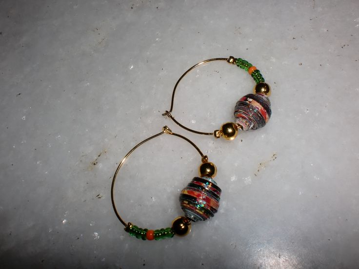 Paper bead Ring