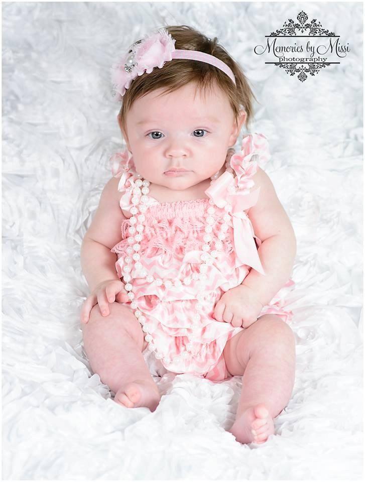 cd422ae3add Sweet Pink Chevron Romper - Happy BOWtique - children s clothing