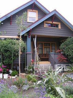 cottage exterior house color palettes - Google Search