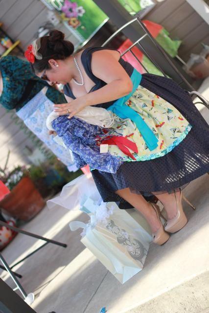 Retro Housewife Bridal Wedding Shower Party Ideas Shower