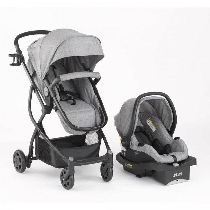 Urbini Omni Plus Travel System Infant Car Seat Stroller