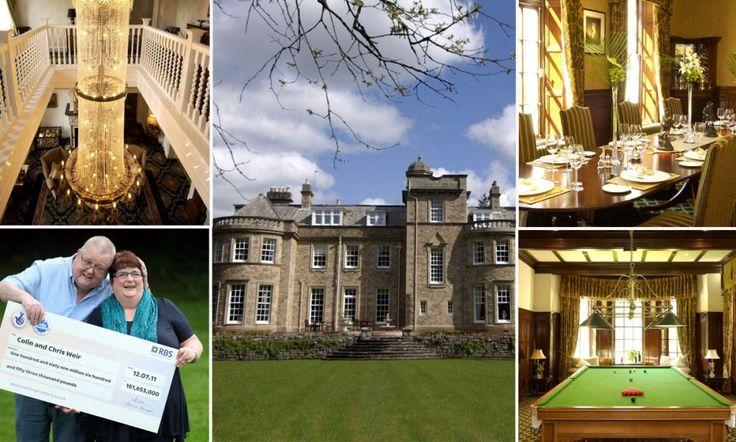 Britain's biggest Lotto winners buy £3million Scottish mansion http://dailym.ai/1ouPFZ4