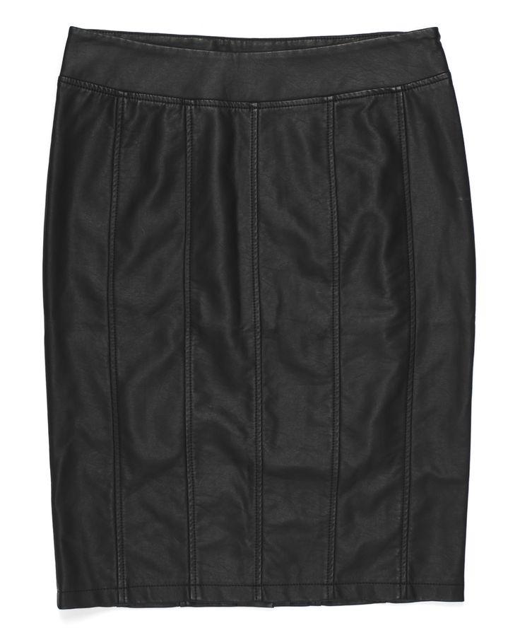 sk-jt40, skórzana, czarna spódnica