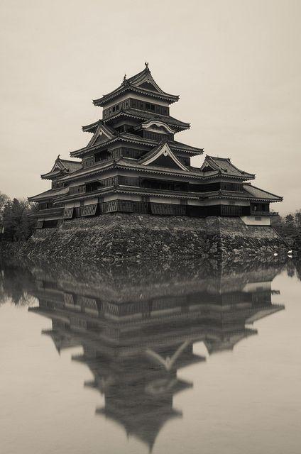 National Treasure of Japan, Matsumoto Castle 松本城