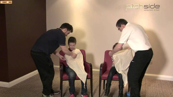 In this video Mr. Austin Foenander talking about peadiatric triangular bandage First Aid, all of IQ First Aid Instructor not only do workplace certificate, an Emergency First Aid At Work, Full First Aid At Work, but also Peadiatric First Aid.