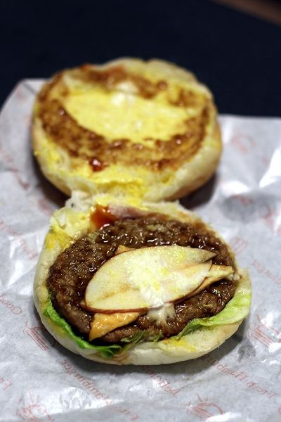 koreai sütemények hamburger