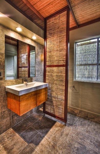 Best 25 bamboo room divider ideas on pinterest diy - Asian themed bathroom accessories ...