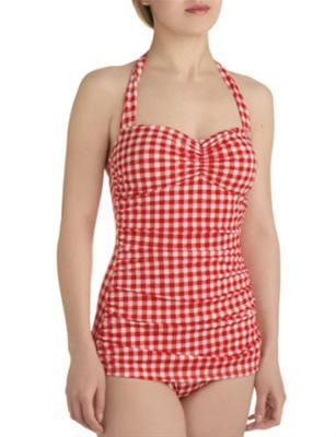 Feel like Rachel McAdams in The Notebook in this one-piece. Now...where's Ryan Gosling?     Photo: Courtesy of modcloth.com