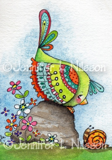 Past artwork of Jennifer L Nilsson - Welcome!