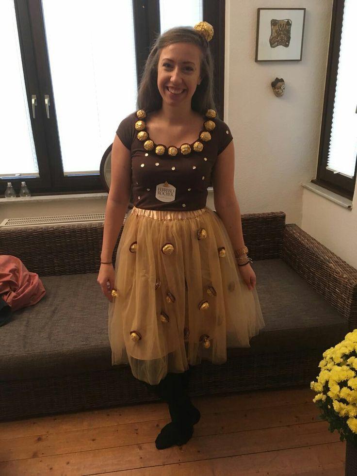 Ferrero Rocher carnival costume