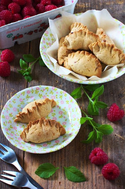 Just My Delicious: Pieczone Pierogi z Malinami