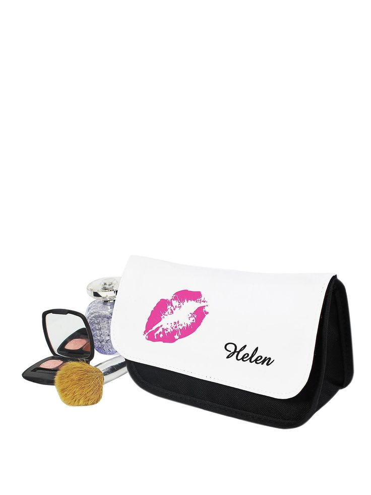 Personalised Lips Make Up Bag   very.co.uk