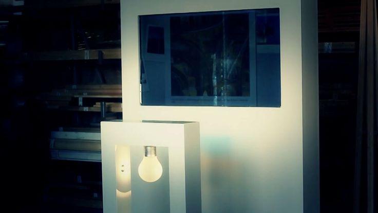 Glasspiel - Interactive Bulb Slideshow Installation on Vimeo