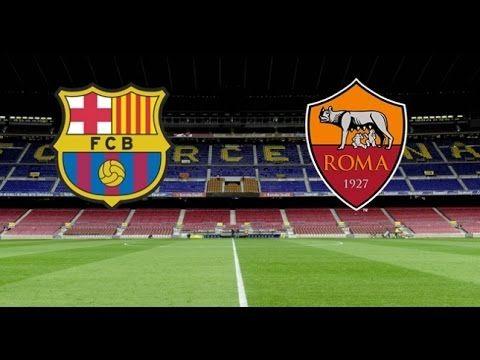Barcelona Vs Roma Full Time 17/09/2015