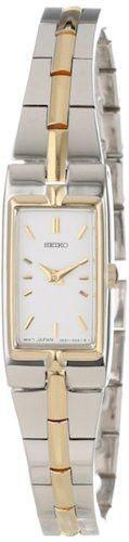 Seiko SZZC40 Dress Silver and Gold-Tone Ladies Watch