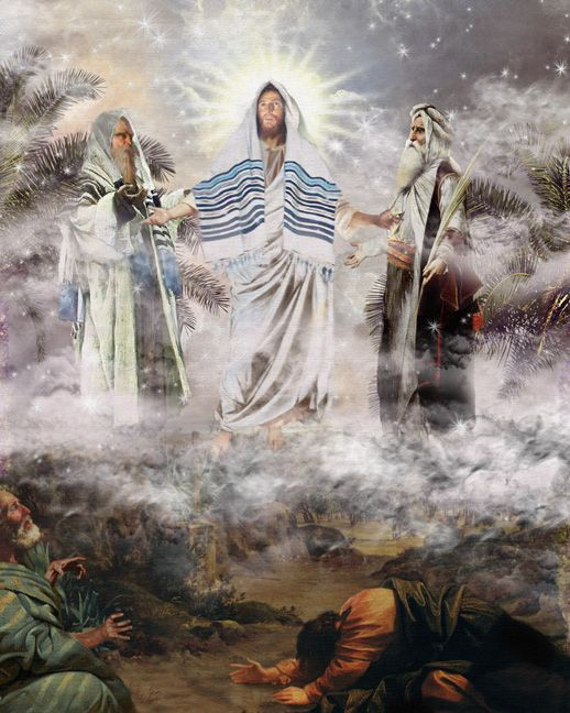 The Transfiguration of Christ by Howard David Johnson ~ Jesus  Yeshuah