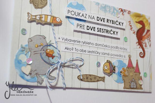 Yka handmade: Darčeková poukážka