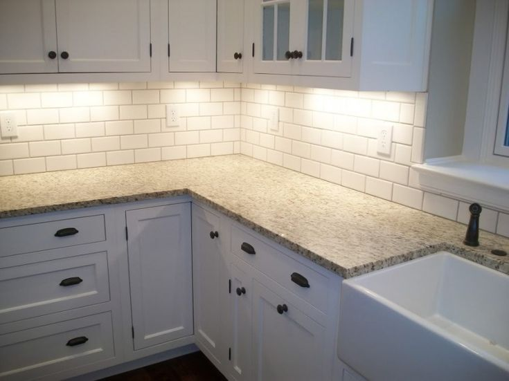 Backsplash Ideas For White Kitchen Cabinets