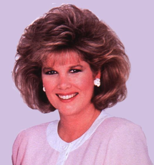 Joan Lunden | Great 80s Hair! I found this video of Joan in … | Flickr