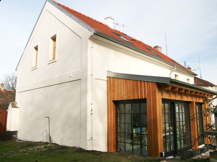 house in the country - extension | přístavba domu na venkově