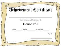 Free Printable Certificates & Awards Templates.