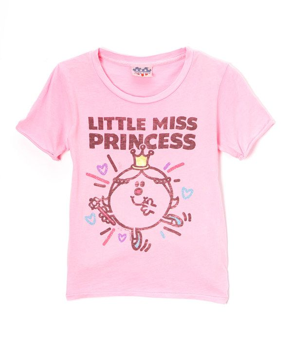 Look at this Pink 'Little Miss Princess' Tee - Girls on #zulily today!