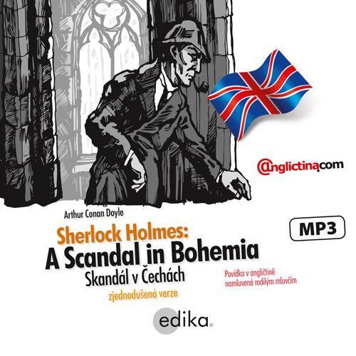 Arthur Conan Doyle – Sherlock Holmes: A Scandal in Bohemia EN (recenzia)