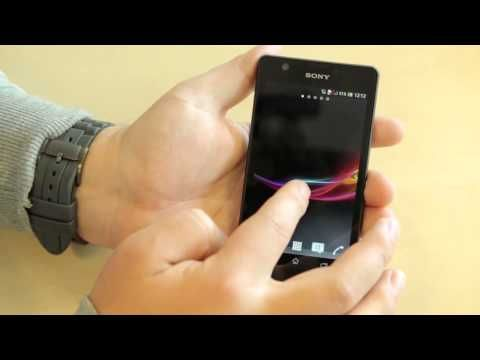 Sony Xperia ZR hands-on/preview Dutch | http://shatelly.com
