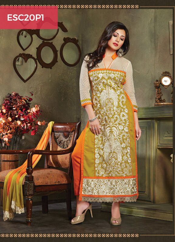 Monday Dhamaka Deal!! Ultimate Rimmi Sen Orange Green Cotton Suit for just Rs 1399/- Shop now @ http://www.enasasta.com/deal/rimi-sen-orange-green-cotton-suit Call or Whatsapp @08288886065