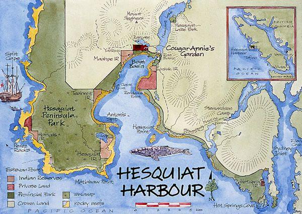 Sketch of Hesquiat Harbour