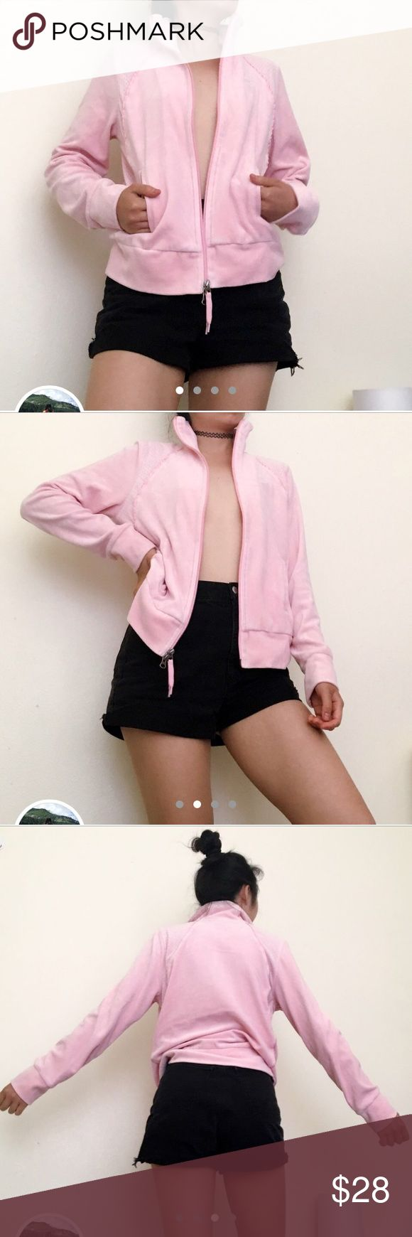 Nike baby pink zip up jacket💗🌸 Nike baby pink zip up jacket💗🌸 Size M. I am in love with this soft color😊 Pair with a high waist pleated white skirt, knee high lace socks and mary janes for a good girl look🌷 #volleyball #skirt #sporty #90s #vintage #beach #summer#fall #lightjacket #jacket #hoodie #Y2K #retro #Nike#lolita #girly #doll #babydoll #angelic #angel #streetlook #original #atheletic #athleisure #vintage #athletic #hiking #running #babe #skorts #mockskirt #retro #depop…