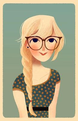 By Stevie Lewis. Love this so much- reminds me of my mom when she was younger <3