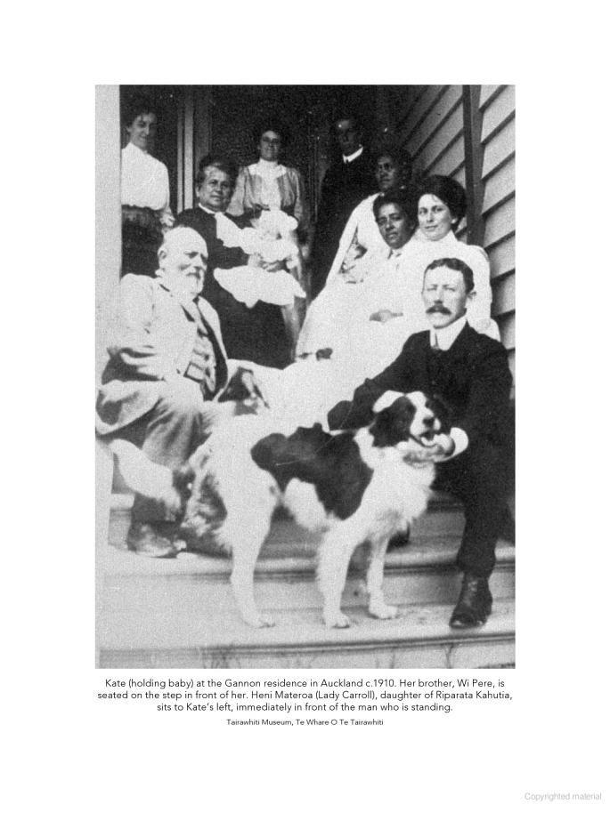 Wiremu Pere: The Life and Times of a Maori Leader, 1837-1915 - Joseph Anaru Te Kani Pere - Google Books - Photo contains Kate Gannon and Wi Pere