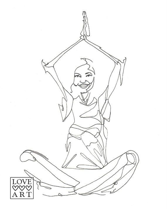 Line Drawing Yoga Pose : Best yoga arte images on pinterest art
