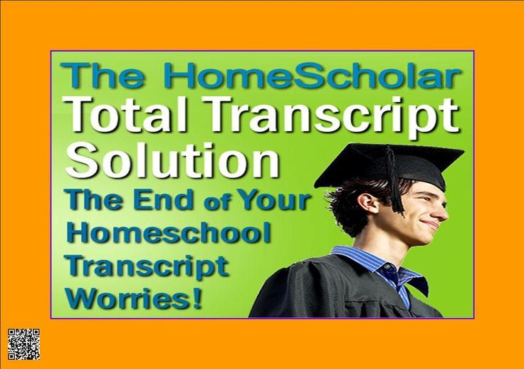 The Homescholar Total Transcript Solution http://6dc1a-3eob4w6l39xild18co9h.hop.clickbank.net/?tid=ATKNP1023